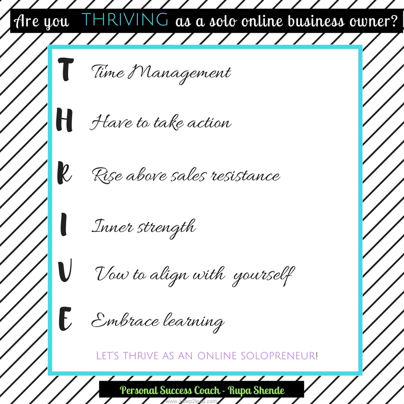 Let's THRIVE as a solopreneur!